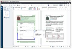 Correggi le aree, controlla i risultati OCR e migliora la qualità visiva del documento