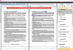 Identifier les différences entre un fichier PDF numérisé et sa version originale dans Word