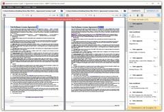 Identifica le differenze tra un PDF scannerizzato e la sua versione originale in Word